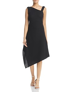 NIC and ZOE - Asymmetric Crepe Dress