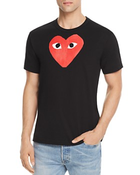 Comme Des Garcons PLAY - Red Heart Graphic Tee