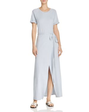 Eizabeth And James Wees Cotton Midi Dress White, Cloud