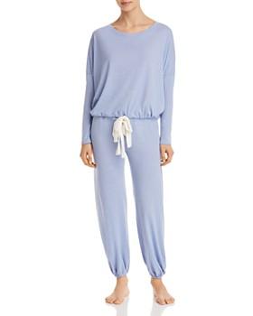 Eberjey - Heather Slouchy Tee & Lounge Pants