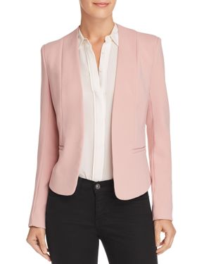 OPEN-FRONT BLAZER - 100% EXCLUSIVE
