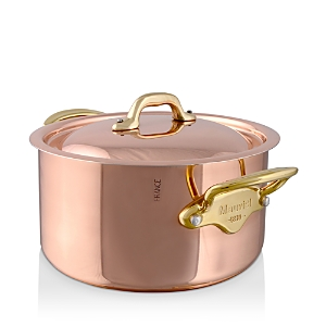 Mauviel M150B 1.9-Quart Copper & Stainless Steel Stew Pan