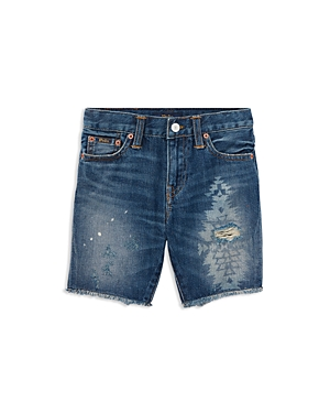 Polo Ralph Lauren Boys Denim CutOff Shorts  Little Kid