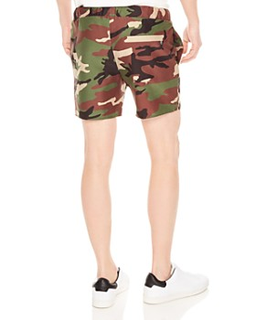 Sandro - Camo Swim Trunks