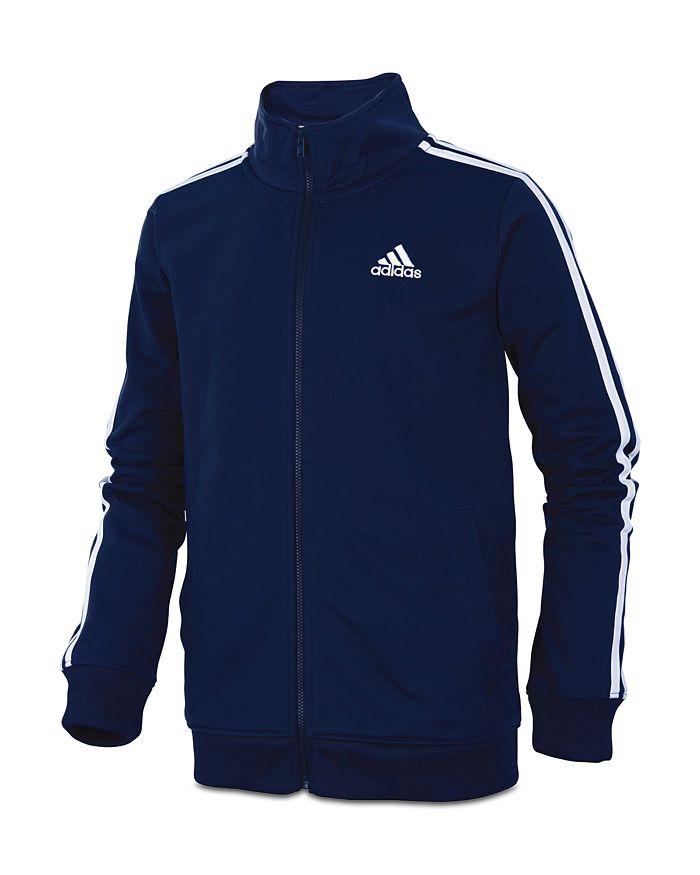 Adidas - Boys' Iconic Tricot Jacket & Pants - Little Kid, Big Kid