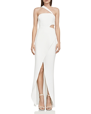 Bcbgmaxazria One-Shoulder Cutout Gown - 100% Exclusive