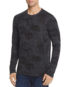 ATM Anthony Thomas Melillo - Destroyed Wash Camouflage Long Sleeve Tee - 100% Exclusive