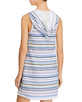 Jane & Bleecker New York - Hooded Stripe Long Tank