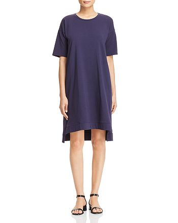 Eileen Fisher - Step-Hem Tee Dress