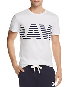 G-STAR RAW RC Hyce Logo Crewneck Tee - Bloomingdale's_0