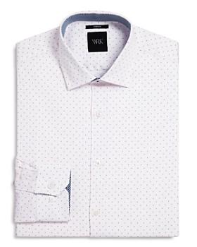 WRK - Pindot Slim Fit Dress Shirt