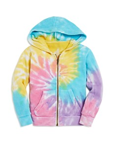 Play Six - Girls' Tie-Dyed One Love Hoodie - Little Kid