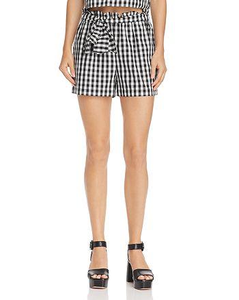 Joie - Cleantha High Waist Gingham Shorts