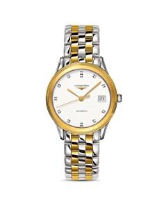 Longines - Flagship Diamond Two-Tone Watch, 35.6mm