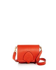 Burberry - Square Leather Satchel