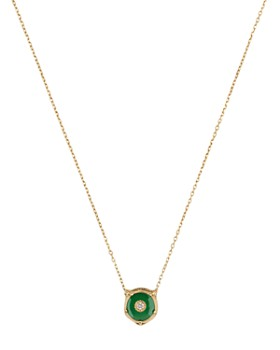e06638866 Gucci - 18K Yellow Gold Le Marché Des Merveilles Jade & Diamond Feline Head  Pendant Necklace