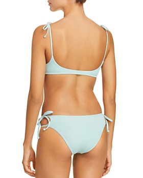 L*Space - Ribbed Daisy Bikini Top & Paradise Bikini Bottom