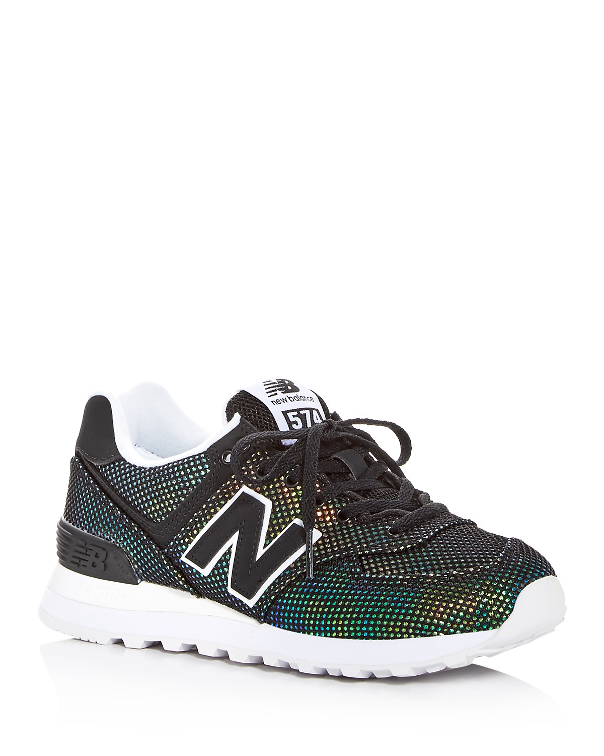 sports shoes afc64 4e49c NEW BALANCE. WOMEN S 574 MERMAID CLASSIC LACE UP SNEAKERS