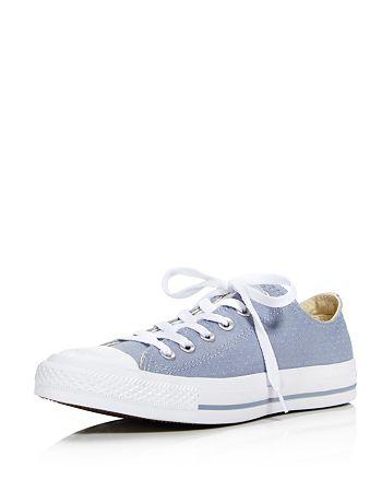 aa897848e96043 Converse - Women s Chuck Taylor All Star Ox Perforated Canvas Low Top Lace  Up Sneakers