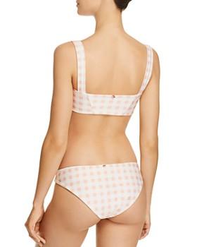 For Love & Lemons - Bonnie Zip Front Bikini Top & For Love & Lemons Bonnie Bikini Bottom