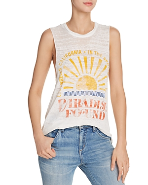 Daydreamer Paradise Found Burnout Tank