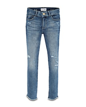 DL1961 - Girls' Chloe Distressed Skinny Jeans - Big Kid