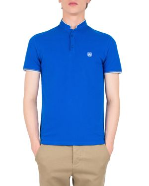 The Kooples Pique Embroidered Slim Fit Polo