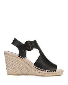 Via Spiga - Women's Nolan Leather Espadrille Wedge Sandals