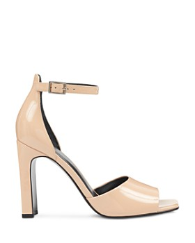 Marc Fisher LTD. - Harlin Patent Leather Ankle Strap Sandals