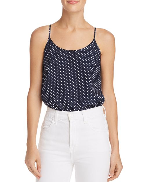 ATM Anthony Thomas Melillo - Dot Silk Camisole Top
