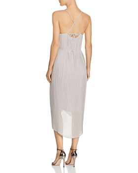 Sam Edelman - Pleated High/Low Dress