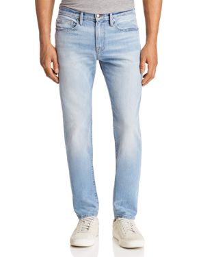 Frame L'Homme Skinny Fit Jeans in Midpines