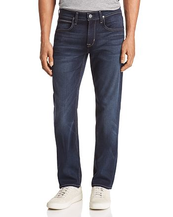 Hudson - Byron Straight Fit Jeans in Newburyport