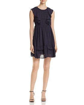 Vero Moda - Suman Sleeveless Ruffle-Trim Dress