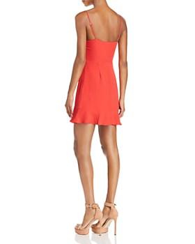 Cotton Candy LA - Tie-Front Cutout Dress