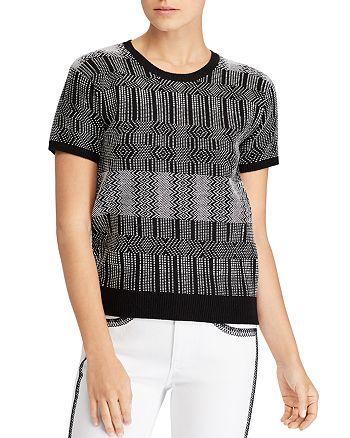 Ralph Lauren - Geometric-Print Sweater