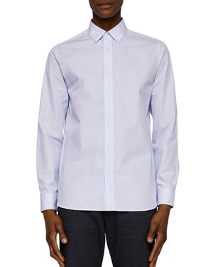 Ted Baker Striped Regular Fit Button-Down Shirt