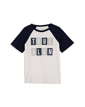 True Religion Boys Raglan Logo Tee  Little Kid