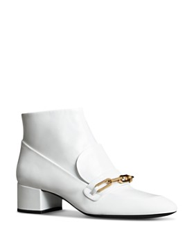 Burberry - Women's Chettle Leather Booties