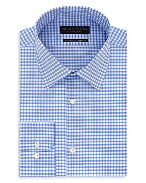 The Men\\\'s Store at Bloomingdale\\\'s Gingham Regular Fit Dress Shirt - 100% Exclusive-Men