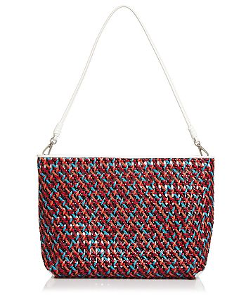 Elizabeth and James - Woven Convertible Shoulder Bag