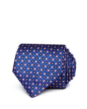 Canali Floret Dot Neat Classic Tie