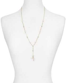 Nadri - Lanai Long Lariat Necklace, 26""