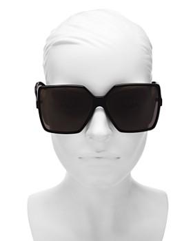 Saint Laurent - Women's Betty Oversized Square Sunglasses, 63mm