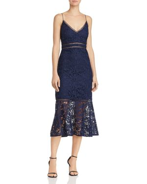 Laundry by Shelli Segal Venise Lace Trumpet Dress 2989381