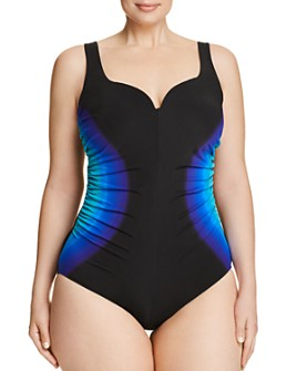 Miraclesuit Plus - Plus Gulfstream Temptress One Piece Swimsuit