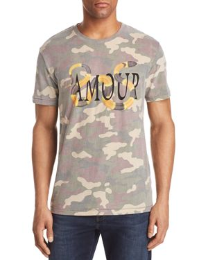 ELEVENPARIS AMOUR CAMOUFLAGE SNAKES TEE