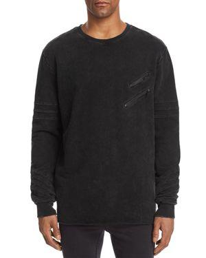 NANA JUDY Nana Judy Unite Crewneck Sweatshirt in Vintage Black