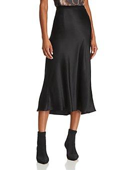 Anine Bing - Bar Silk Skirt