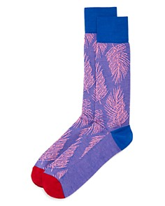 Happy Socks Palm Frond Socks - Bloomingdale's_0